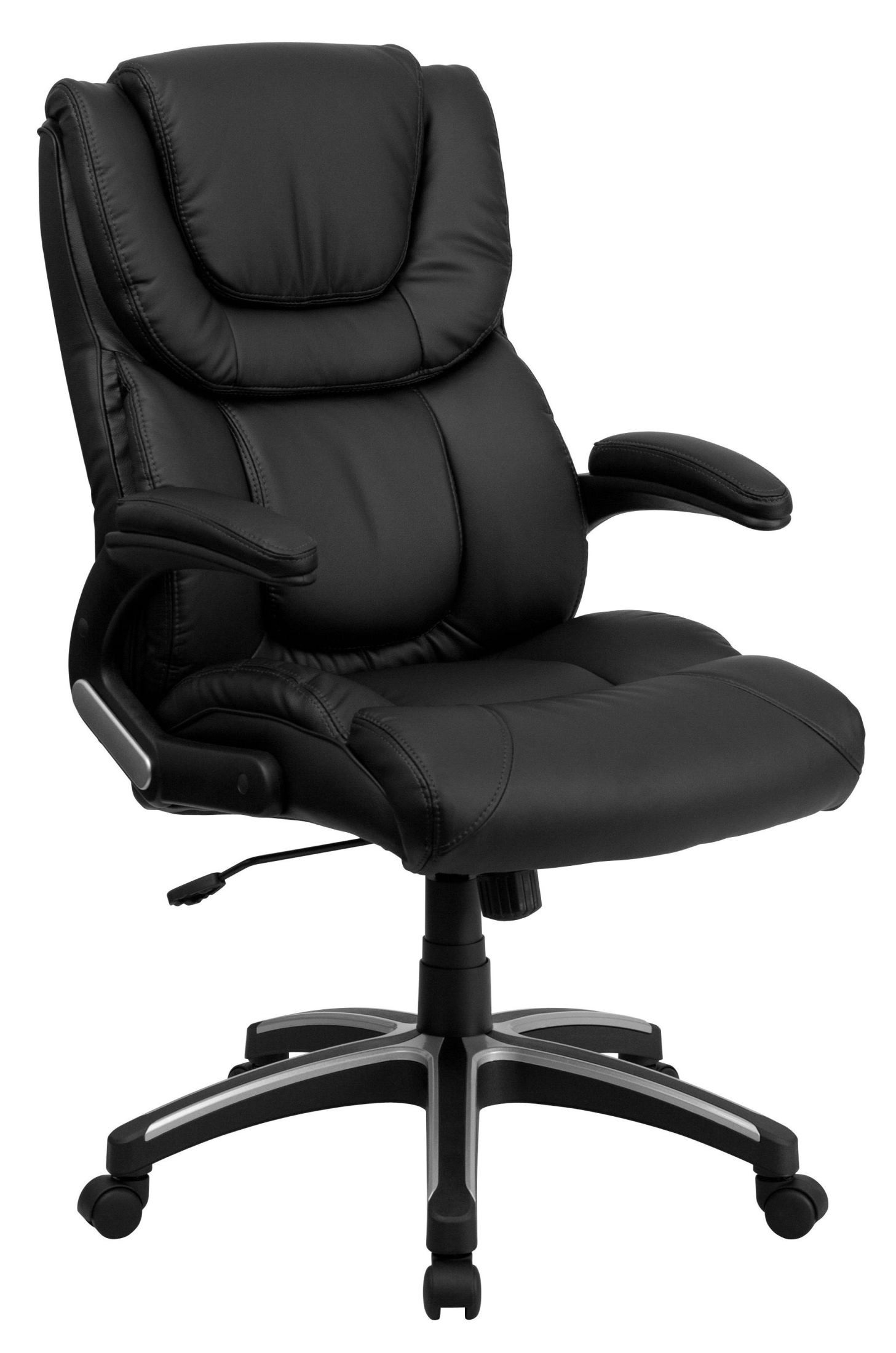 coleman lumbar quattro chair best chairs swivel glider recliner 1000523 high back black executive office from