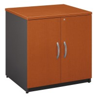 Series C Auburn Maple 30 Inch Storage Cabinet from Bush ...