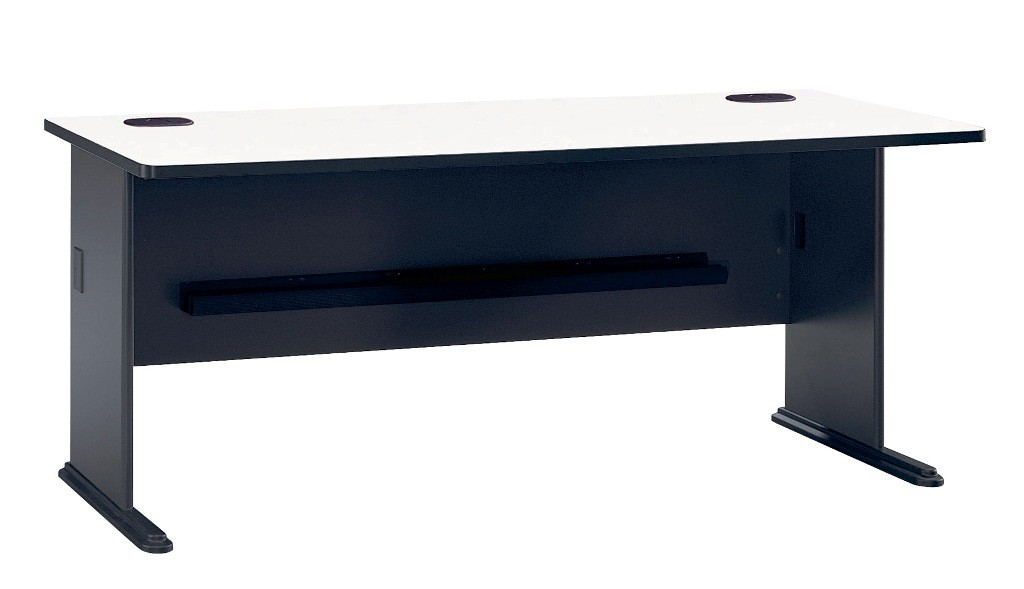 Series A Slate 72 Inch Desk from Bush WC84872  Coleman