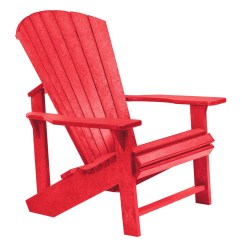 Adirondack Chairs Plastic Little Table And For Toddlers Generations Red Chair From Cr C01 01