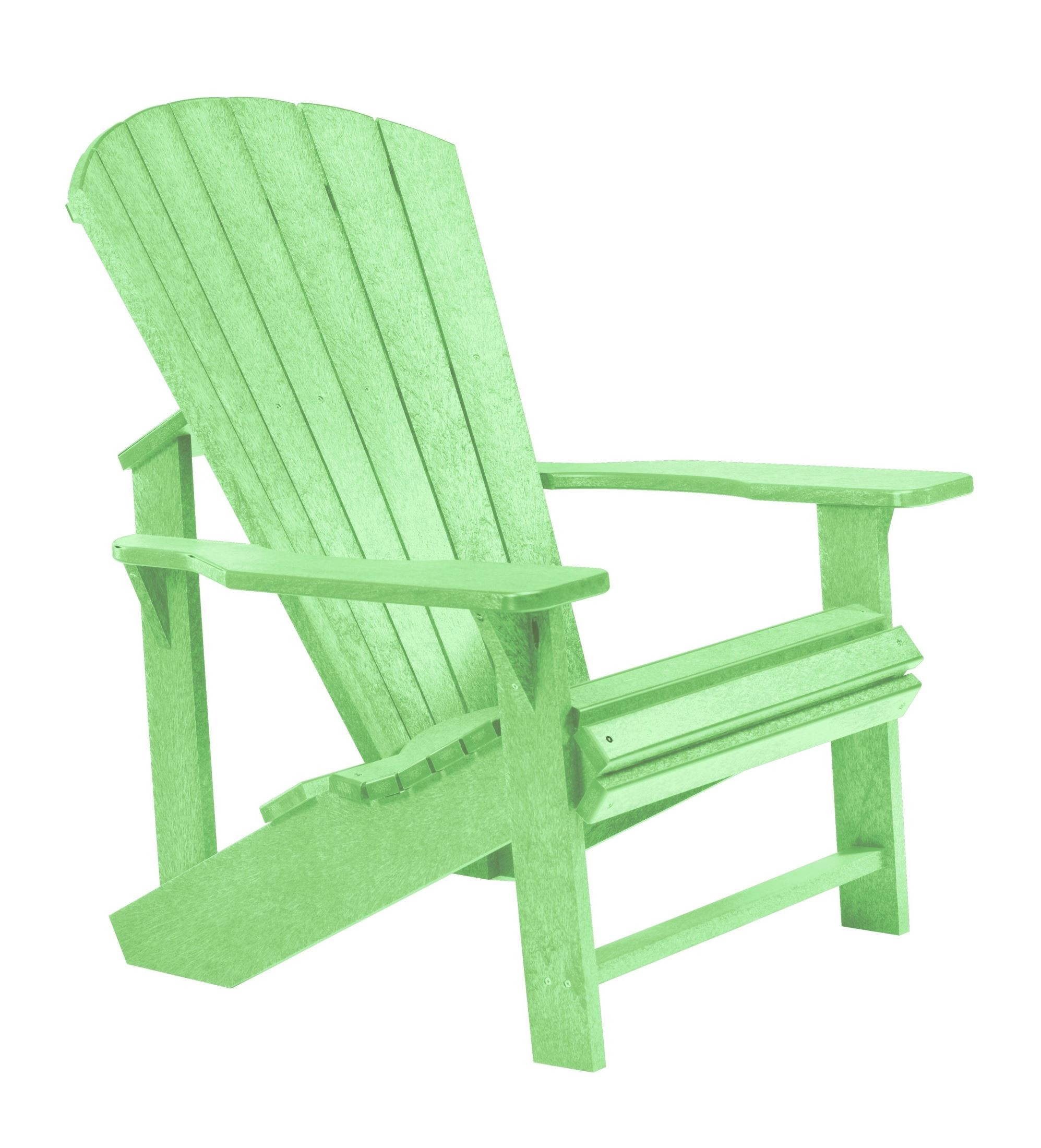Lime Green Chair Generations Lime Green Adirondack Chair From Cr Plastic