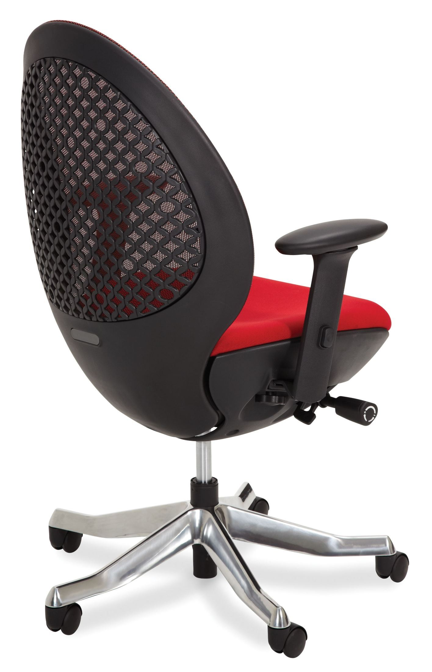 Red Swivel Chair Linq Mid Red Swivel Chair From Aico C03 66pa 03