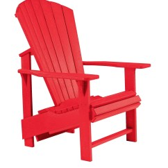 Red Adirondack Chairs Plastic Ll Bean All Weather Chair Generations Upright From Cr