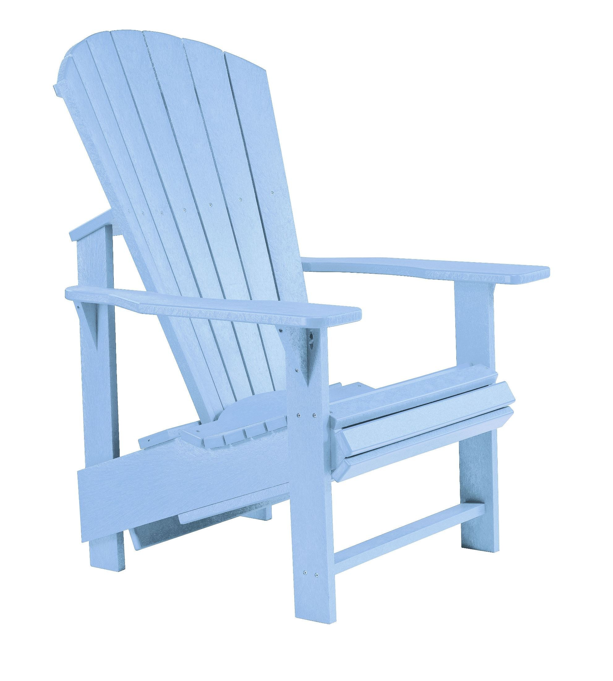 Blue Adirondack Chair Generations Sky Blue Upright Adirondack Chair From Cr