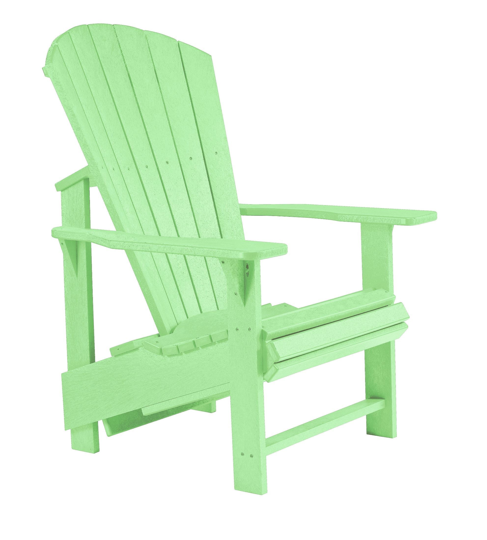 lime green chairs for sale how to make a chair cover wedding generations upright adirondack from cr