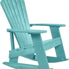 Aqua Adirondack Chairs Revolving Chair Parts Suppliers In Mumbai Generation Turquoise Rocker From Cr Plastic