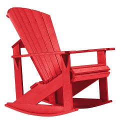 Red Adirondack Chairs Plastic Car Seat Office Chair Conversion Kit Generations Rocking From Cr