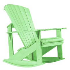 Green Rocking Chair Modern White Generations Lime Adirondack From Cr