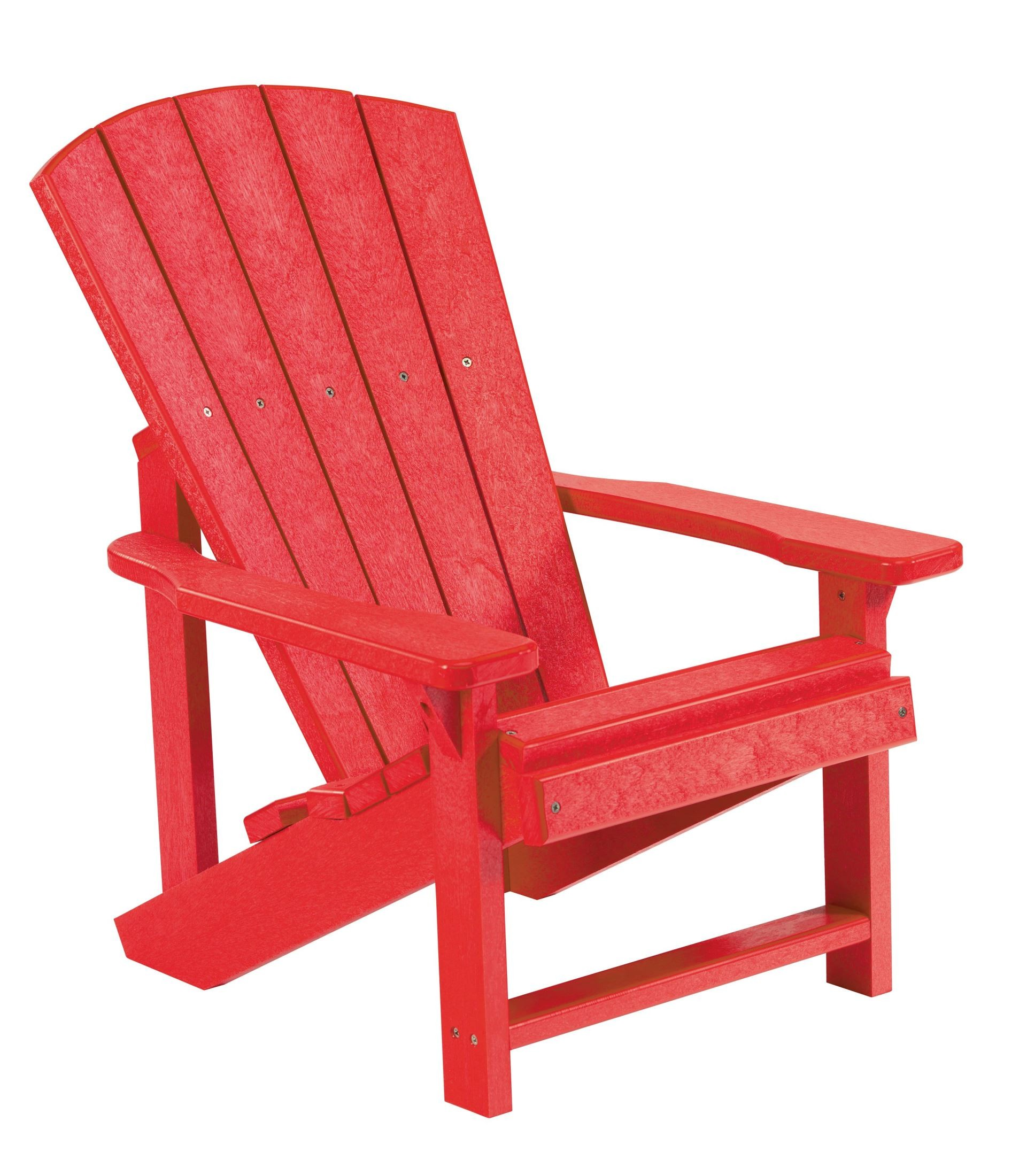 Red Adirondack Chairs Generations Red Kids Adirondack Chair From Cr Plastic C08