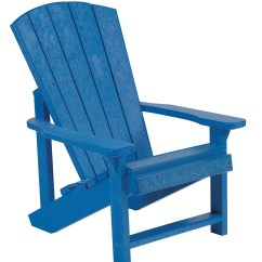 Plastic Adirondack Chair Linen Dining Covers Australia Generations Blue Kids From Cr