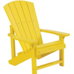 Yellow Adirondack Chairs Plastic Stacking Outdoor Generations Kids Chair From Cr