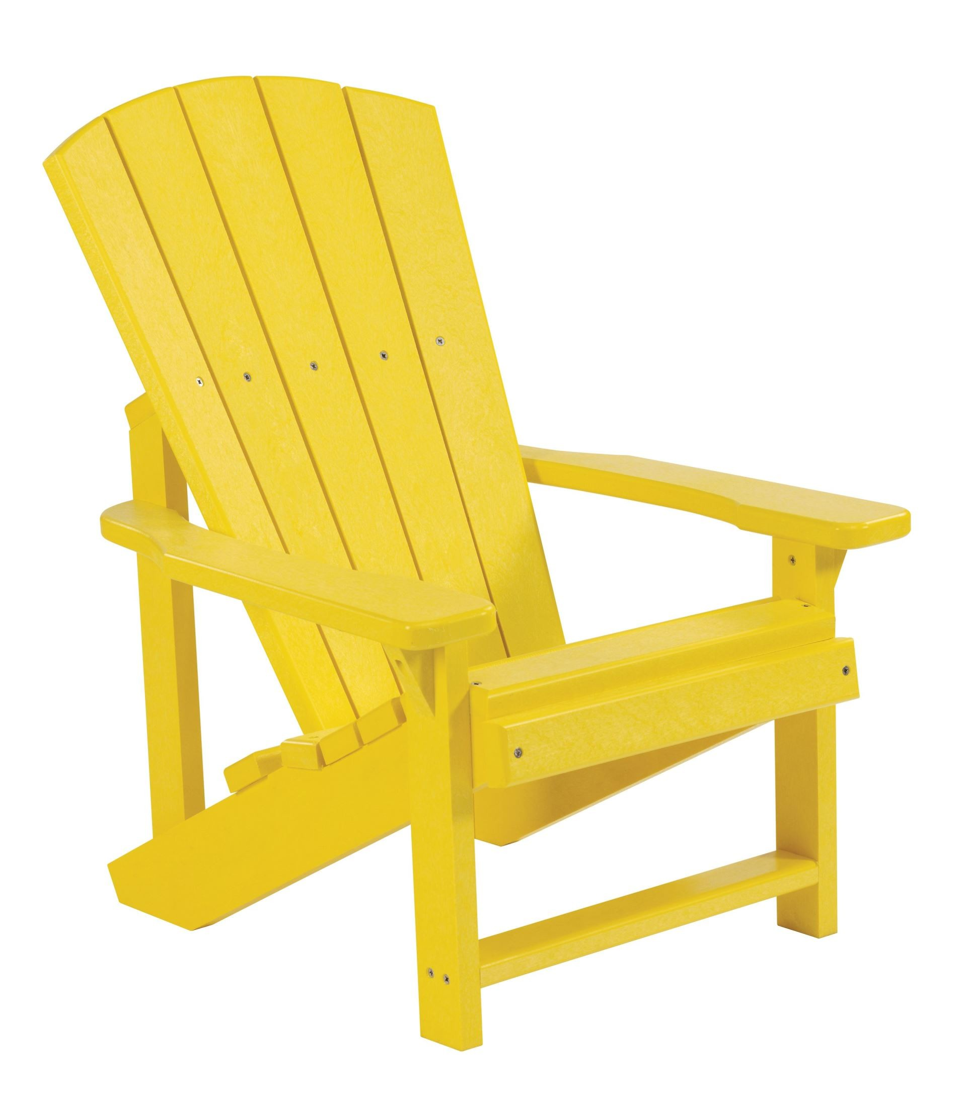 Kid Adirondack Chair Generations Yellow Kids Adirondack Chair From Cr Plastic
