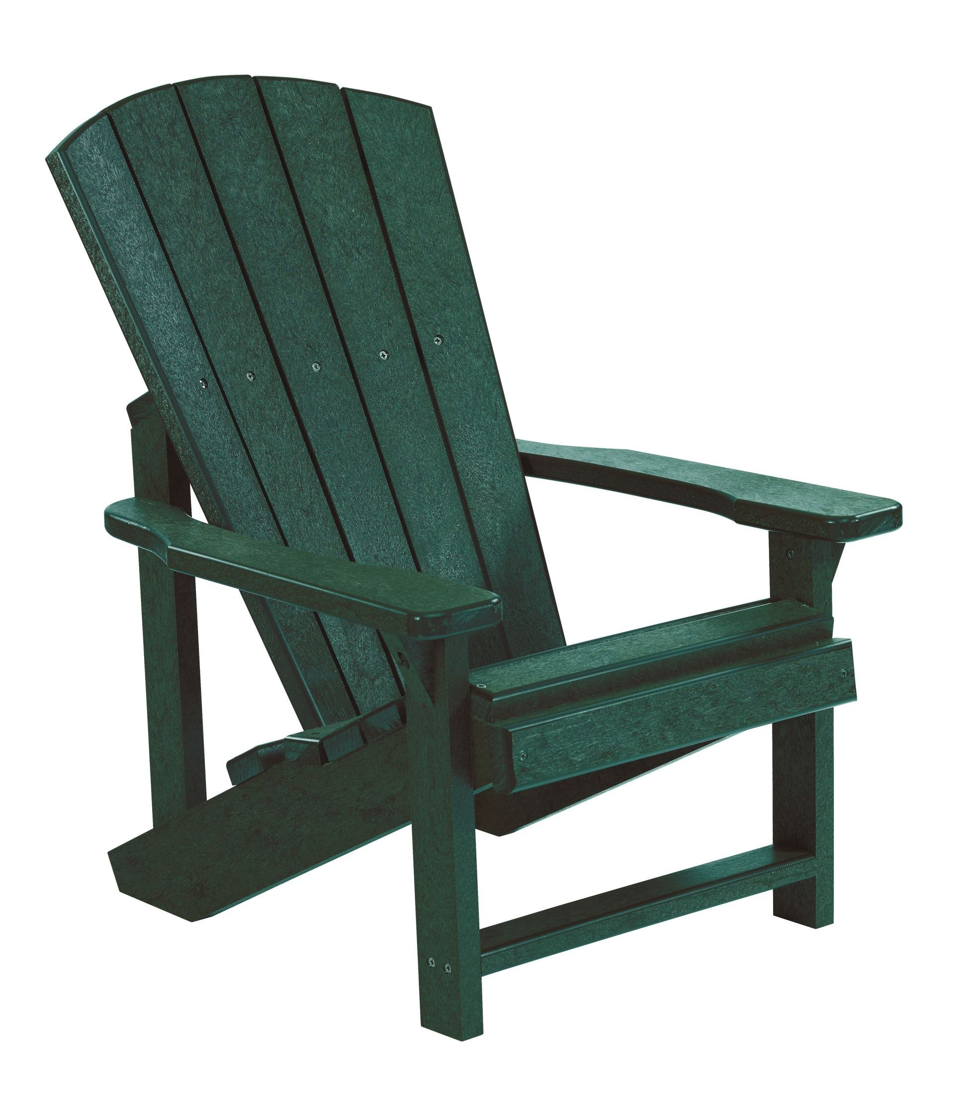 Kid Adirondack Chair Generations Green Kids Adirondack Chair From Cr Plastic