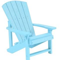 Aqua Adirondack Chairs Swing Chair Tent Generations Kids From Cr Plastic