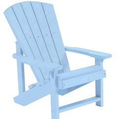 Adirondack Chairs Plastic Best Chair For Long Pc Gaming Sessions Generations Sky Blue Kids From Cr
