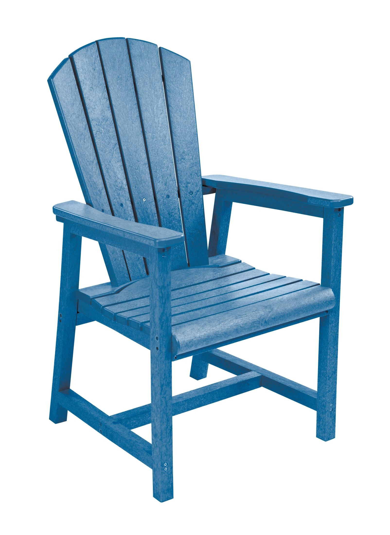 Blue Adirondack Chair Generations Blue Adirondack Dining Arm Chair From Cr