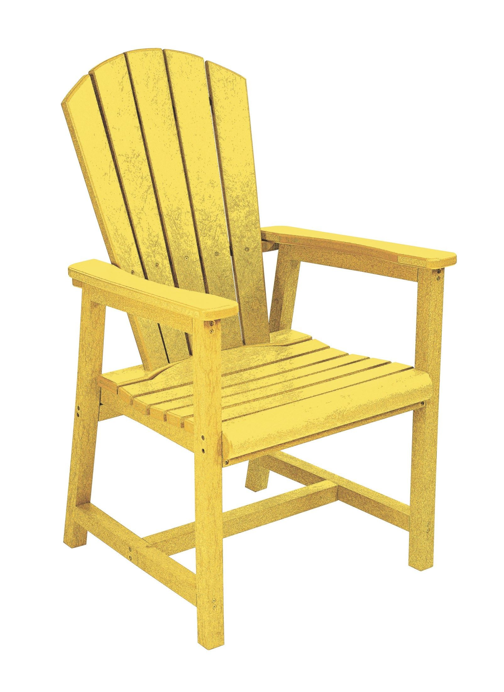 Generations Yellow Adirondack Dining Arm Chair from CR