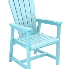 Aqua Adirondack Chairs Tabouret Metal Generations Dining Arm Chair From Cr
