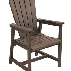 Adirondack Style Dining Chairs Steel Chair To Buy Generations Chocolate Arm From Cr