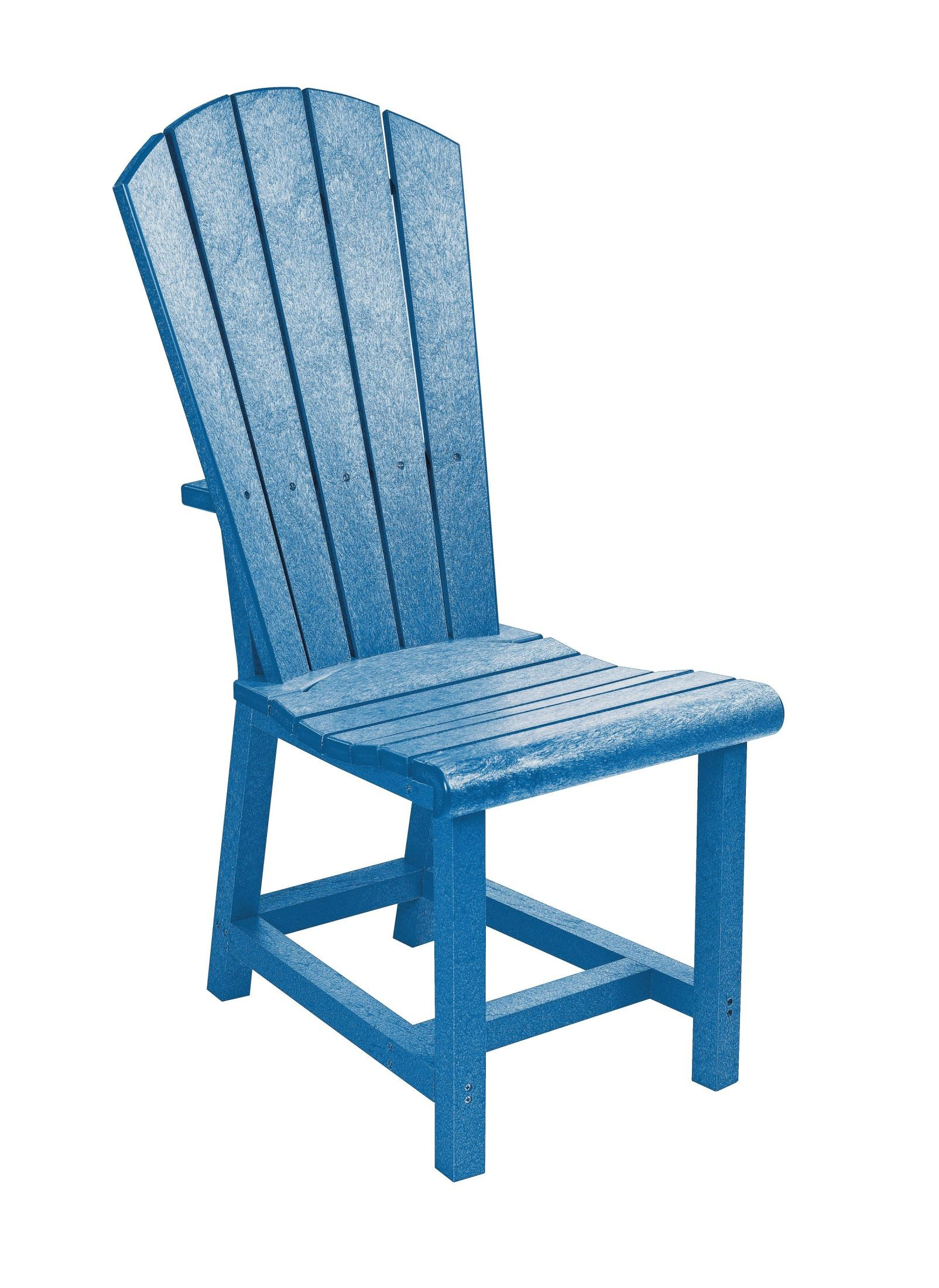 adirondack style dining chairs round padded folding generations blue side chair from cr
