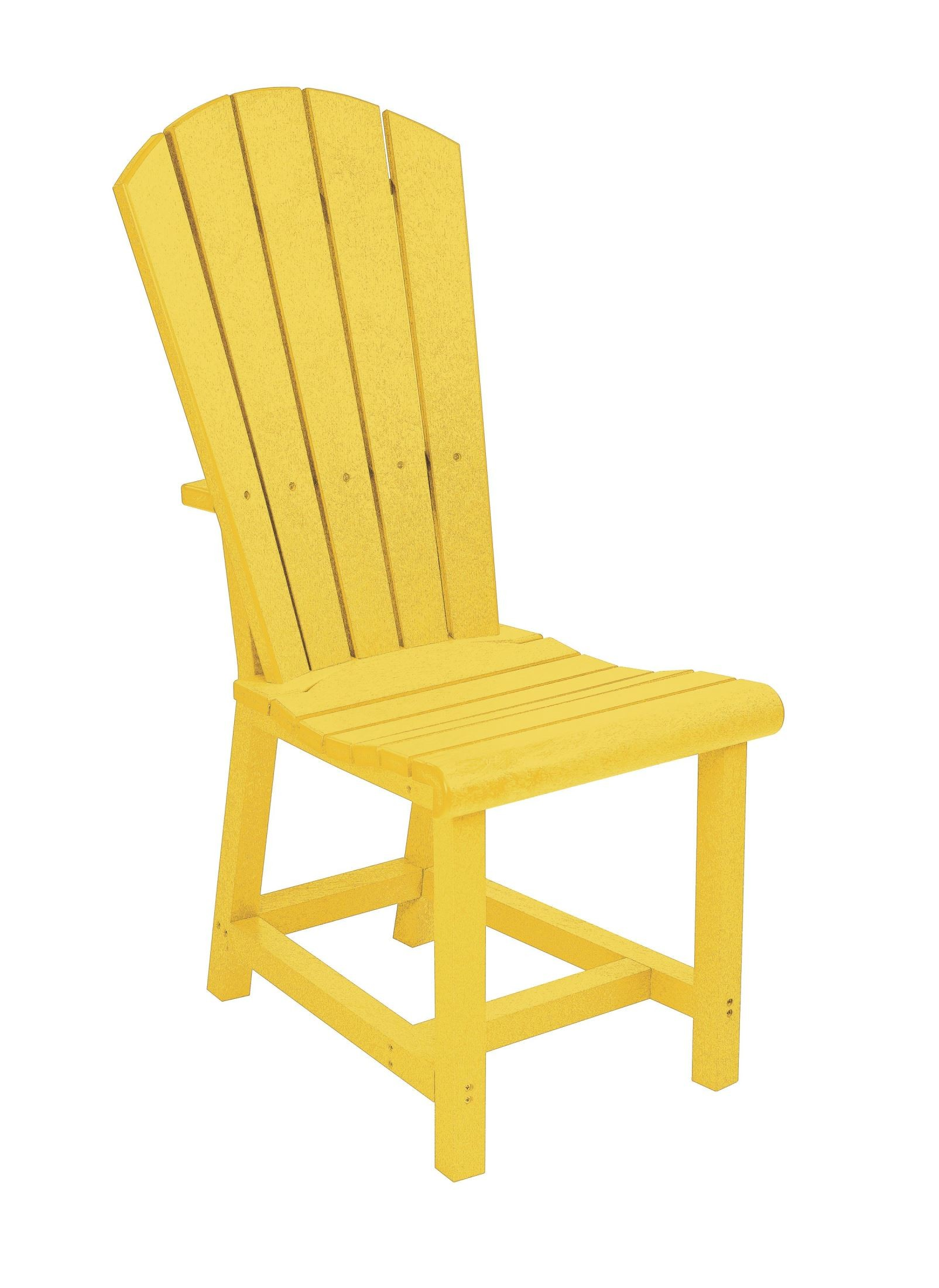 Yellow Side Chair Generations Yellow Adirondack Dining Side Chair From Cr