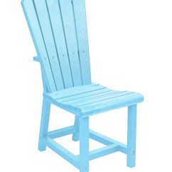 Aqua Adirondack Chairs Apartment Size Swivel Recliner Generations Dining Side Chair From Cr
