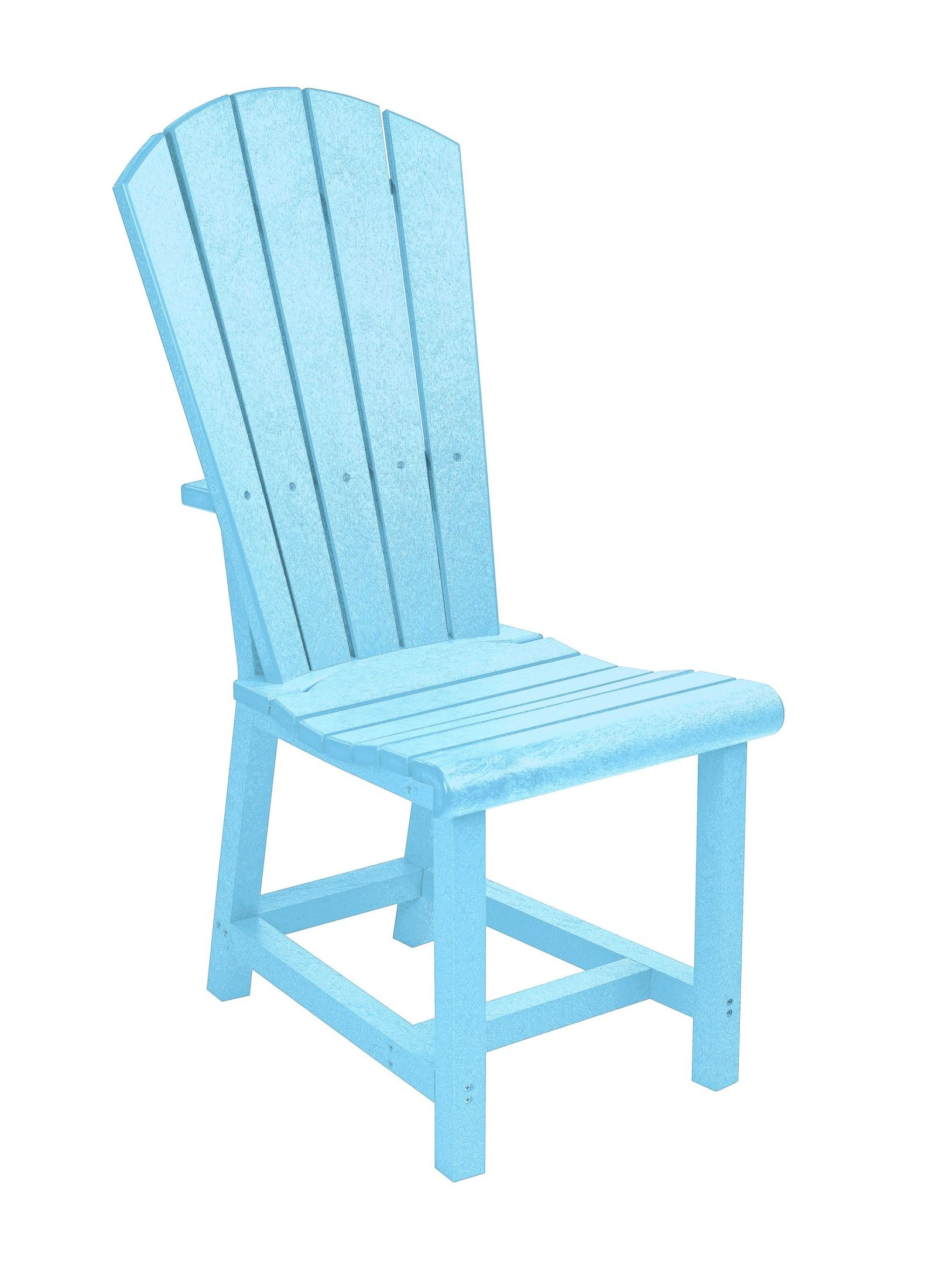 Aqua Dining Chairs Generations Aqua Adirondack Dining Side Chair From Cr