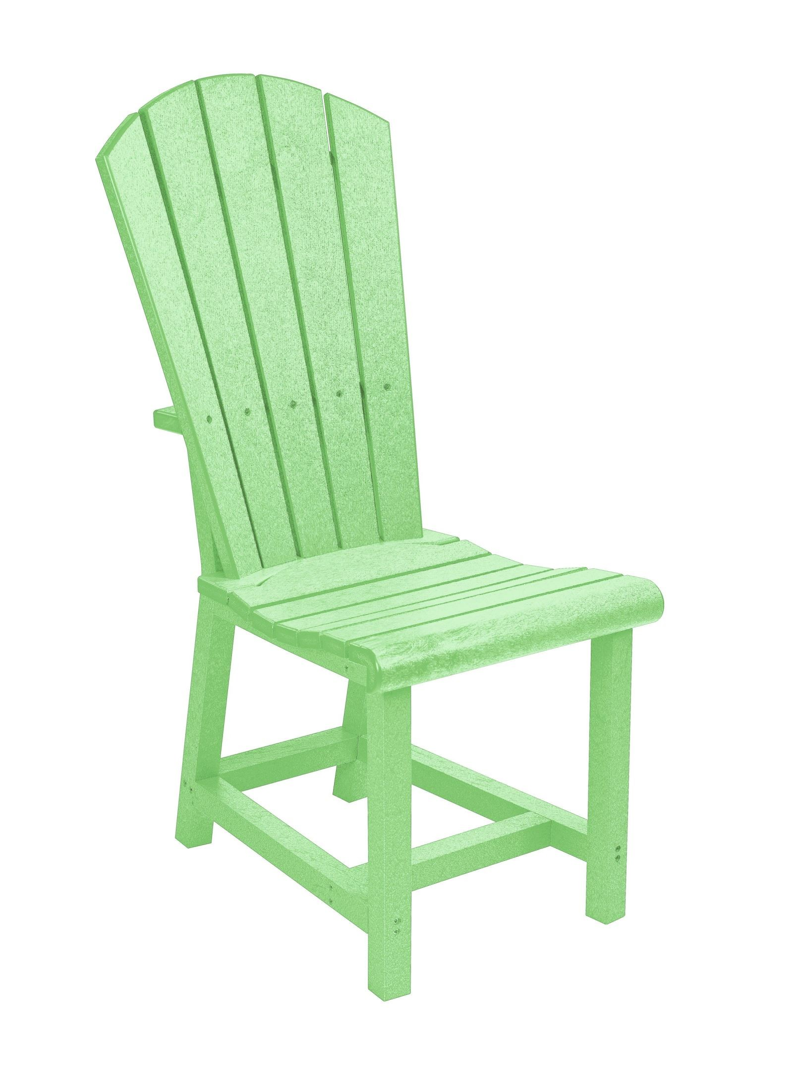 Lime Green Chair Generations Lime Green Adirondack Dining Side Chair From