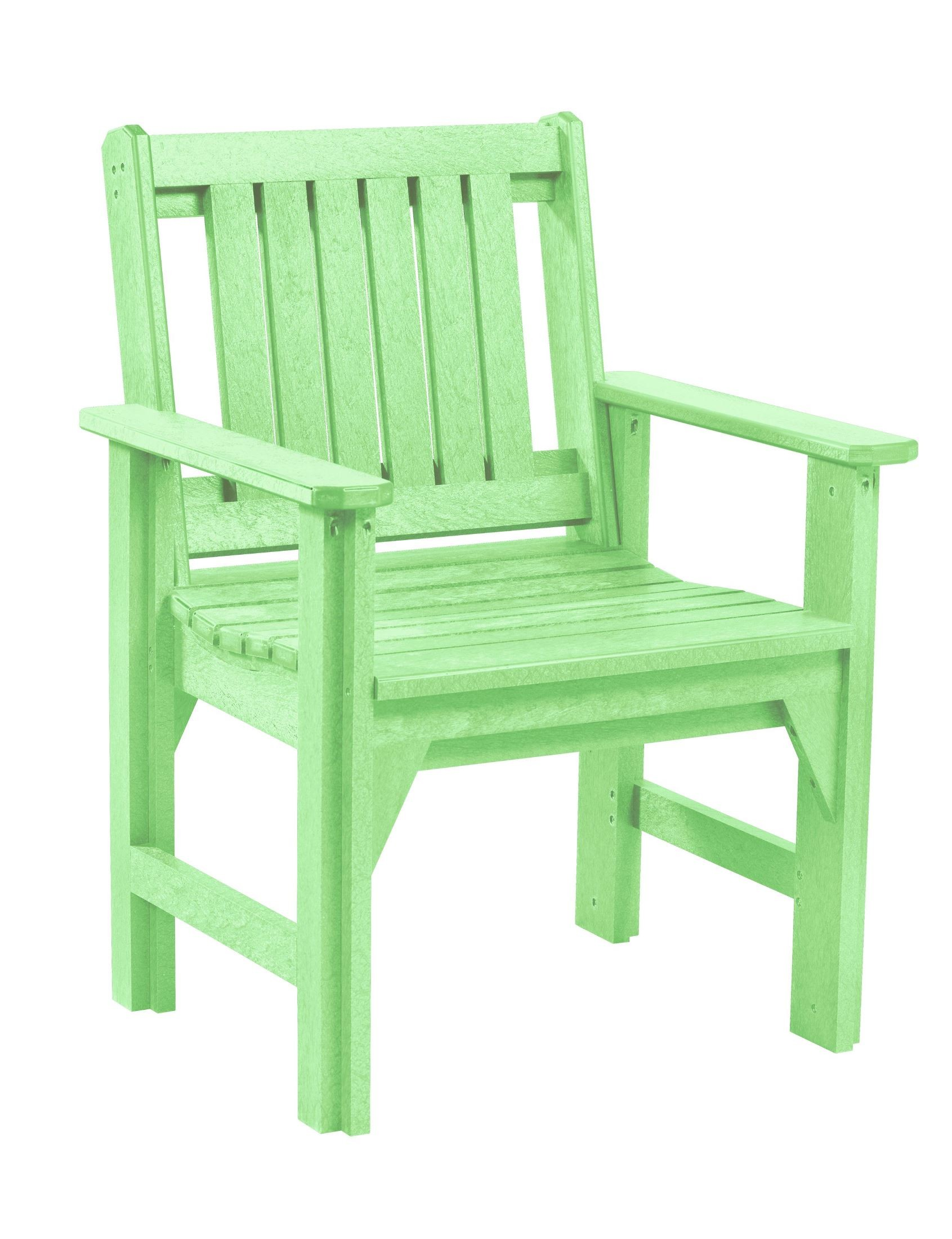 lime green chairs for sale chair covers weddings rentals generations slat back dining arm from cr