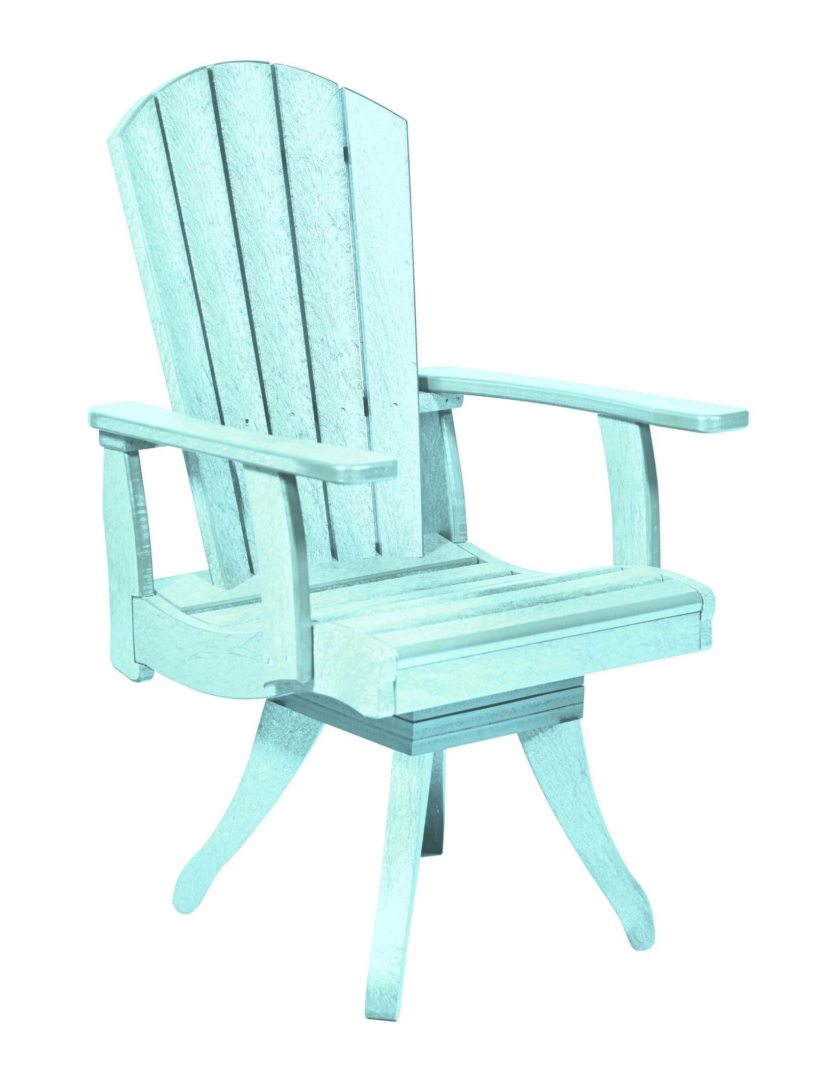 Aqua Dining Chairs Generations Aqua Swivel Dining Arm Chair From Cr Plastic