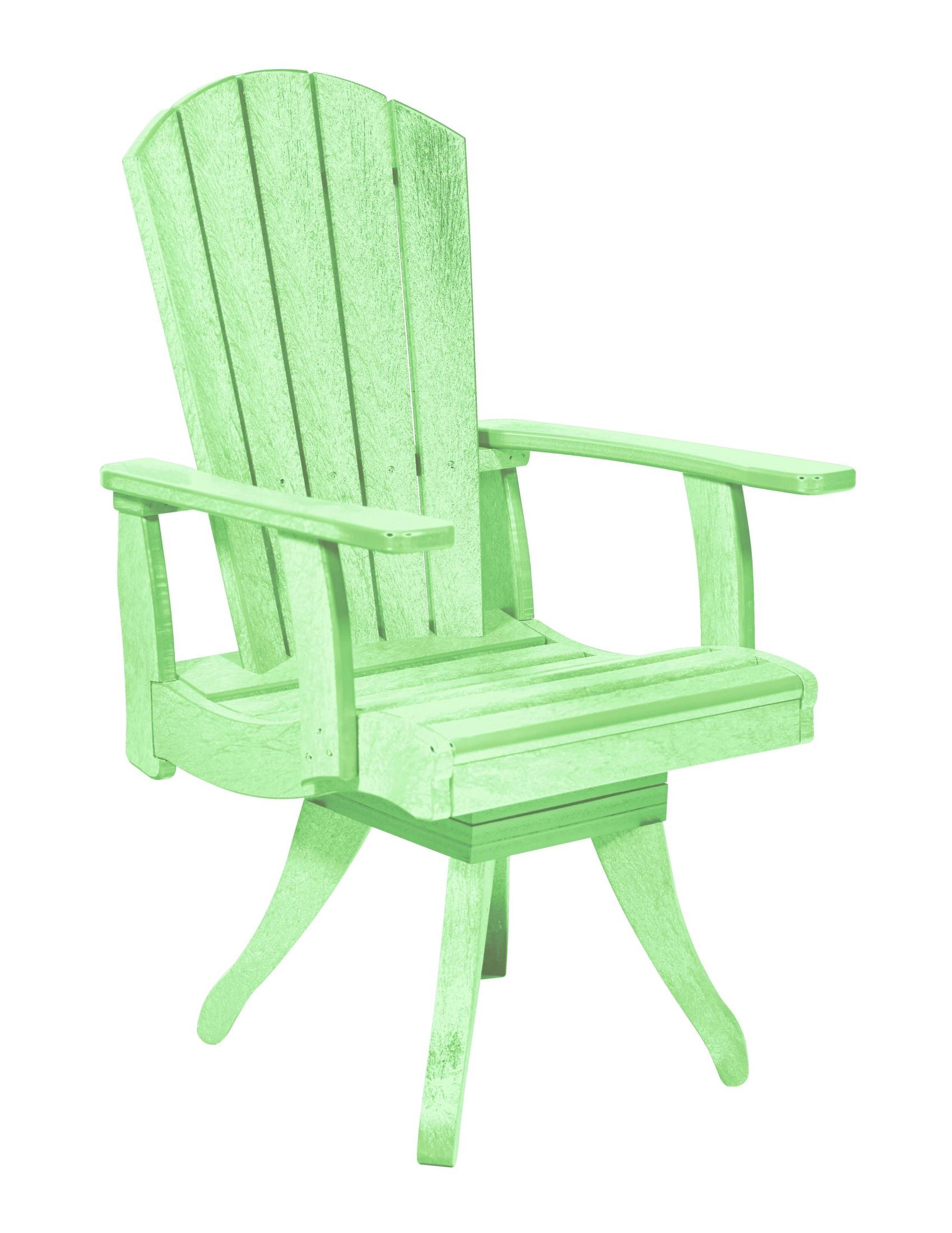 Generations Lime Green Swivel Dining Arm Chair from CR