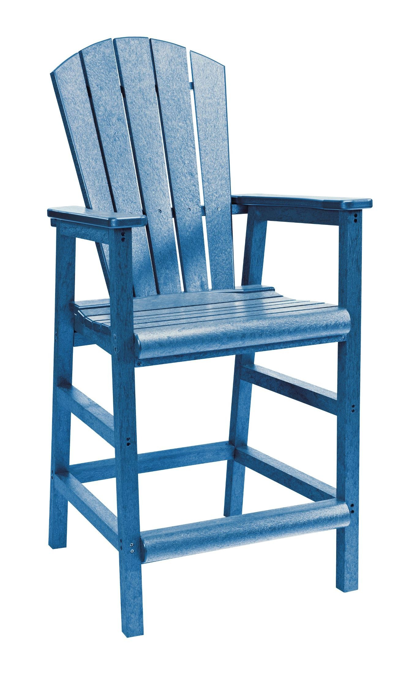 Blue Adirondack Chair Generations Blue Adirondack Dining Pub Arm Chair From Cr