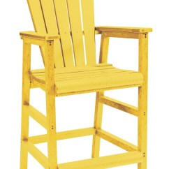 Yellow Adirondack Chairs Plastic Crushed Velvet Armchair Uk Generations Dining Pub Arm Chair From Cr