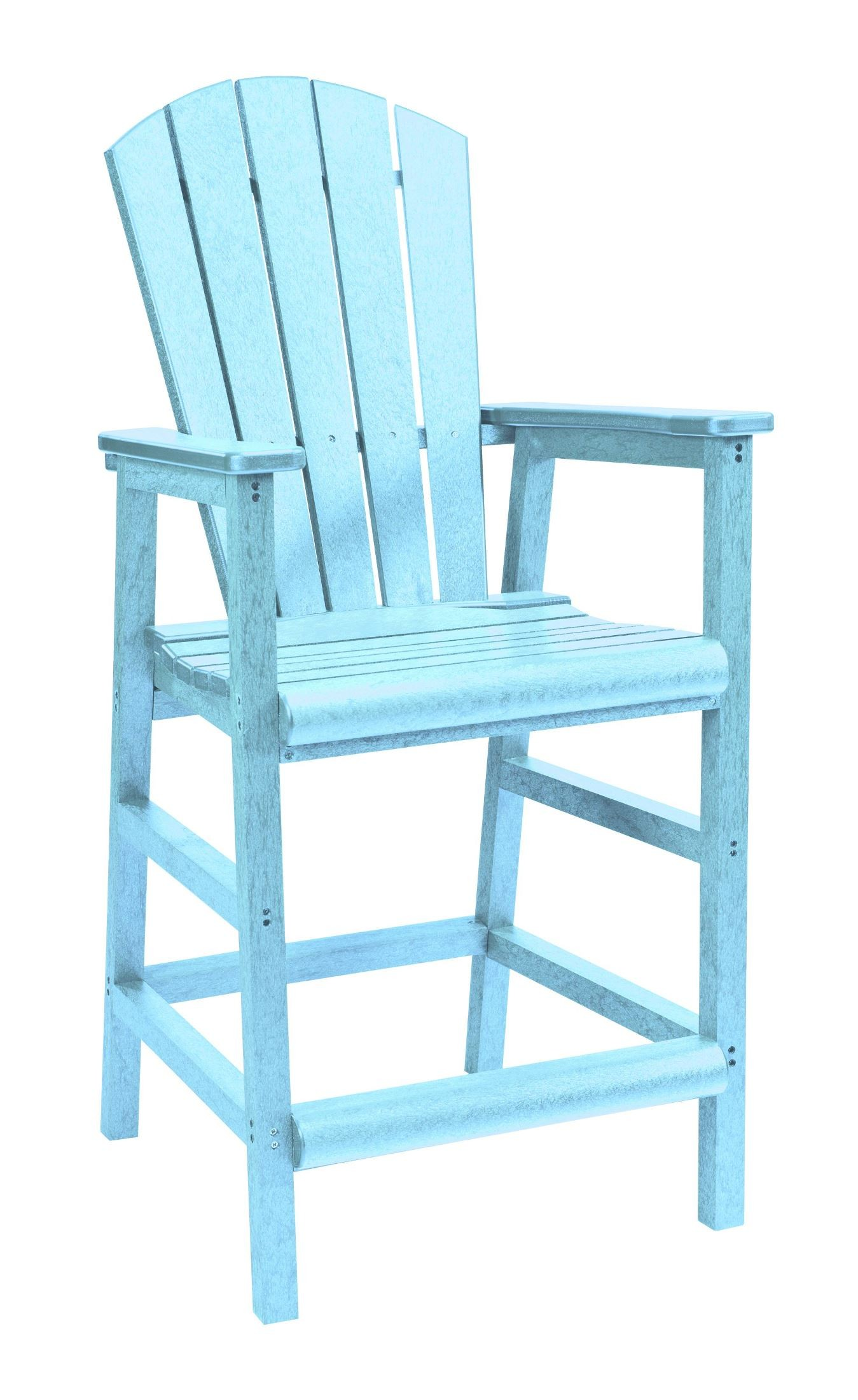 Aqua Dining Chairs Generations Aqua Adirondack Dining Pub Arm Chair From Cr