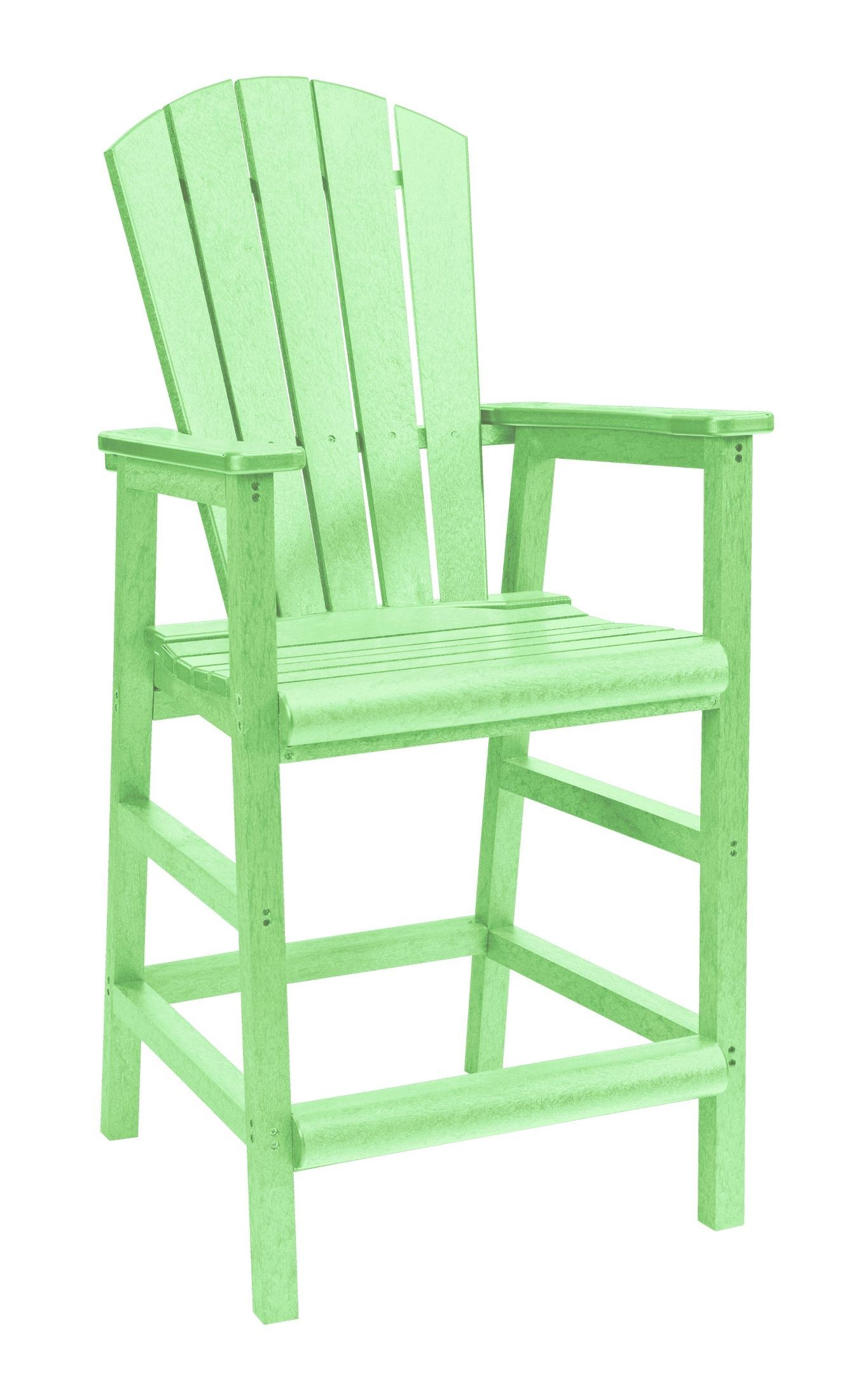 lime green chairs for sale black leather chair and a half with ottoman generations adirondack dining pub arm