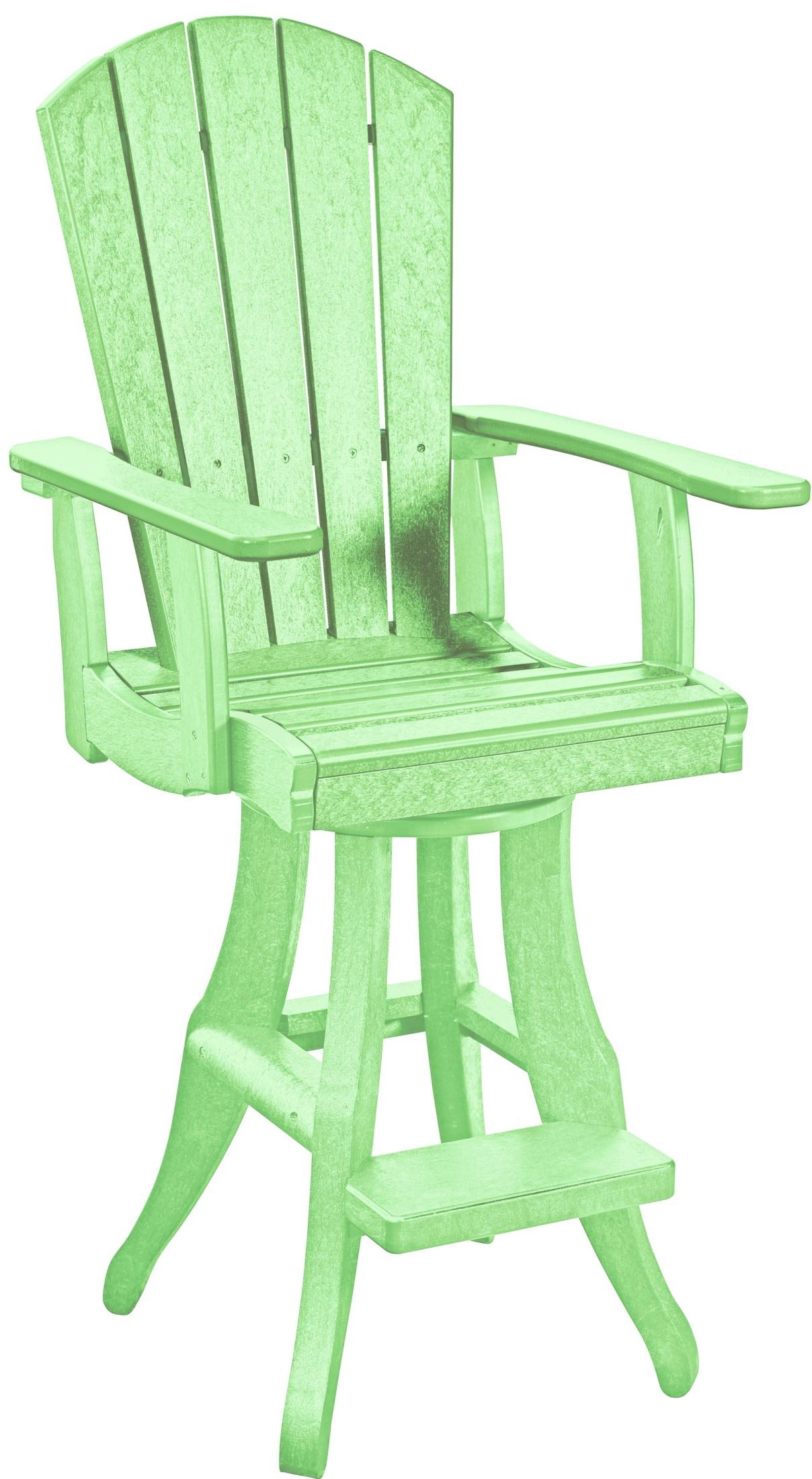 Lime Green Chair Generations Lime Green Swivel Pub Arm Chair From Cr