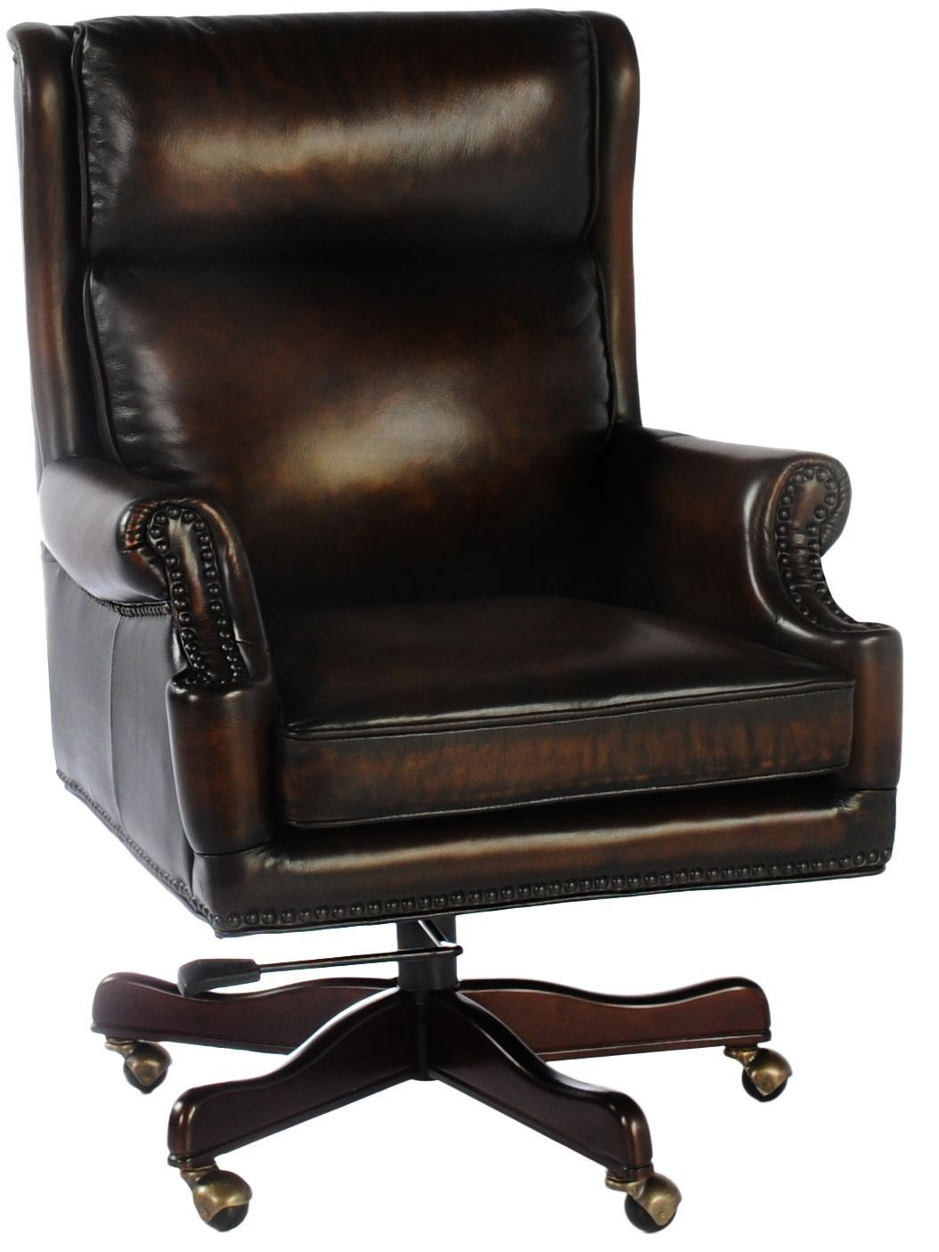 Tan Office Chair Clinton Black And Tan Leather Office Chair From Lazzaro Wh