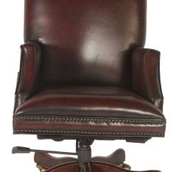 Red Leather Desk Chair Stacking Resin Chairs Fuller Black And Office From Lazzaro Wh