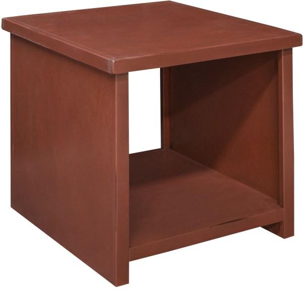 Calistoga Red End Table Ca4130-rrd Legends Furniture