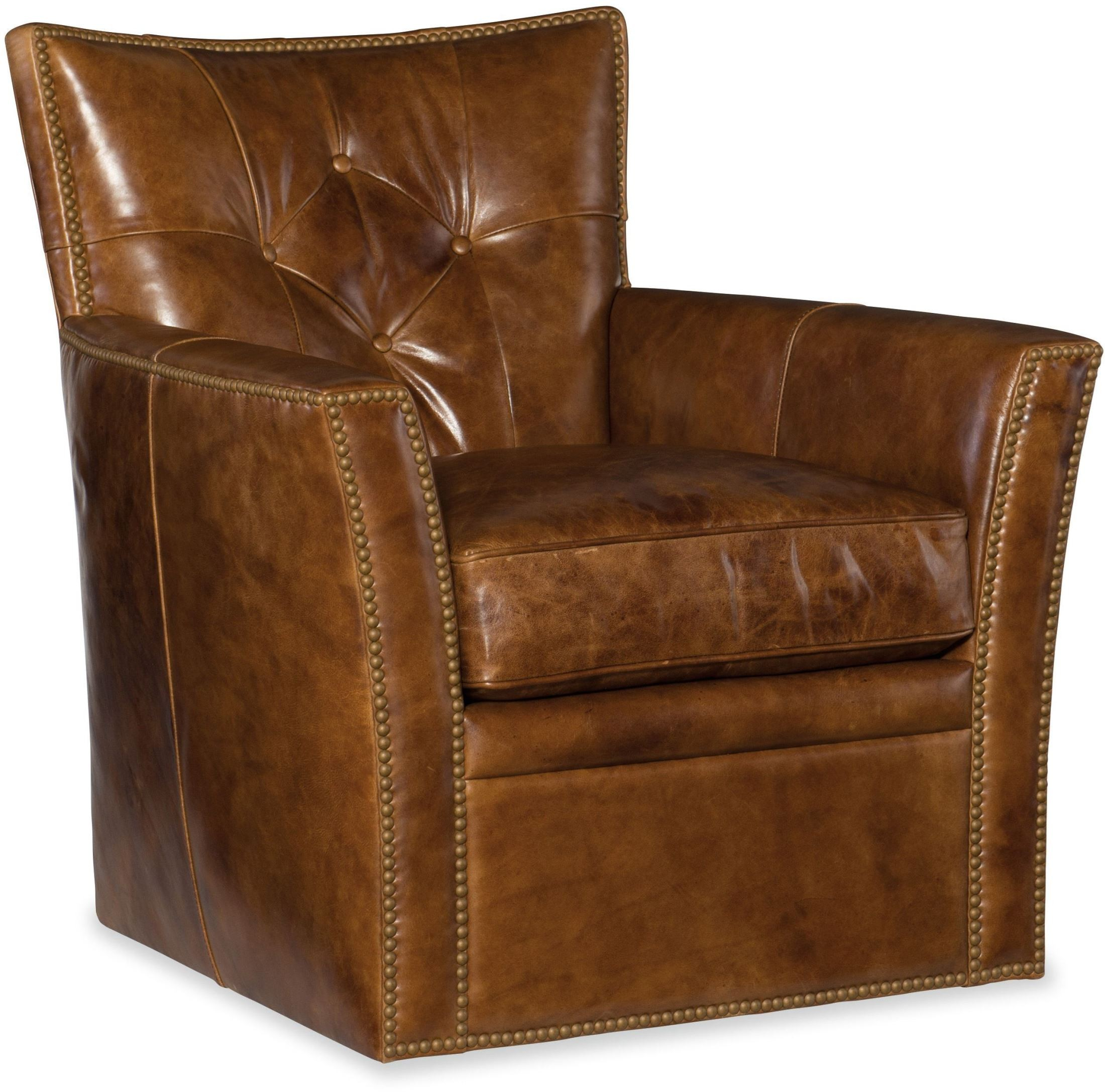 swivel club chair stool height conner brown from hooker coleman furniture
