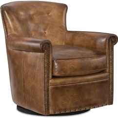 Swivel Chair Brown Cover Hire Middlesex Jacob Club From Hooker Coleman Furniture