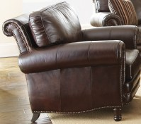 Chateau Top Grain Leather Chair from Steve Silver (CH860C ...