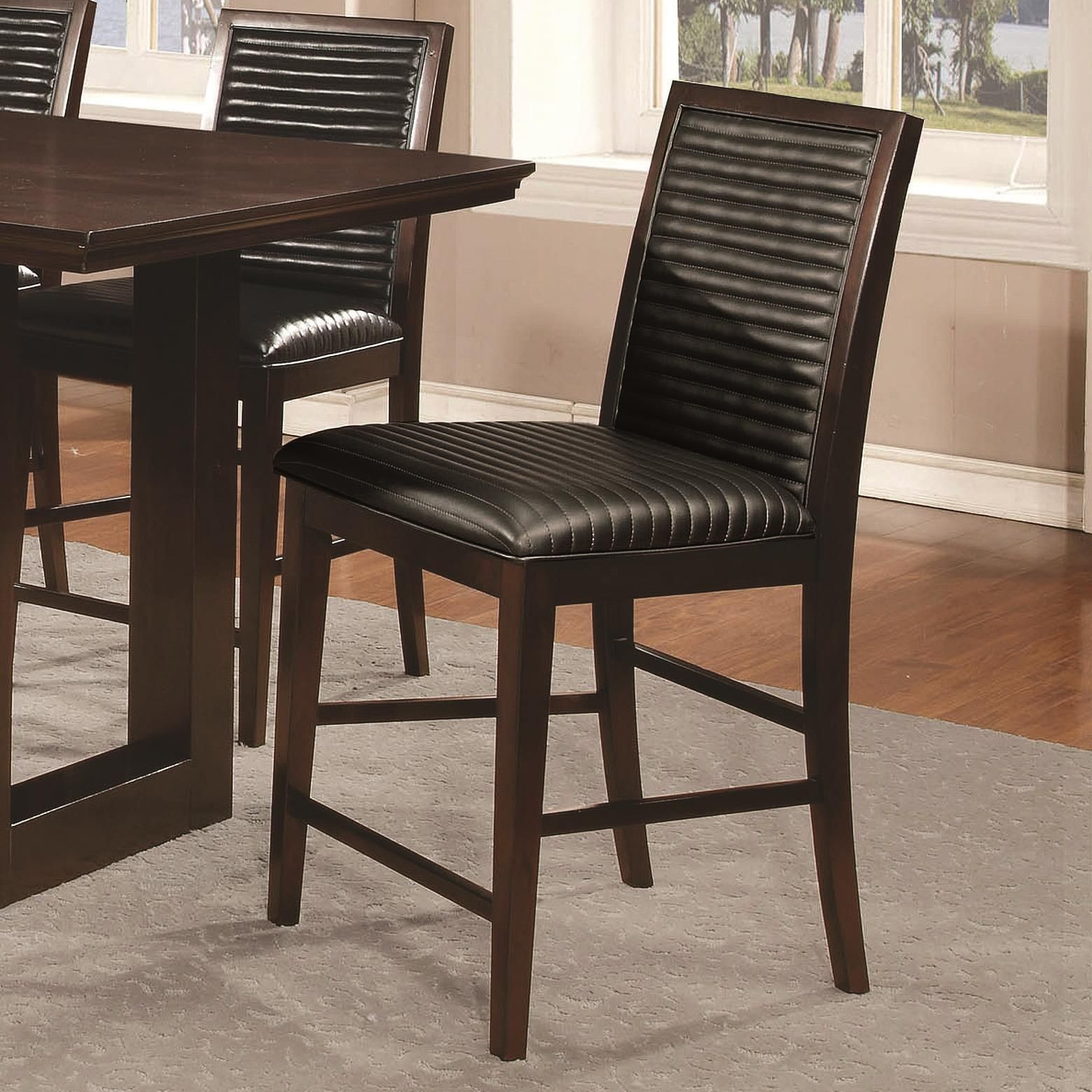 Chester Upholstered Counter Height Chair Set of 2 from