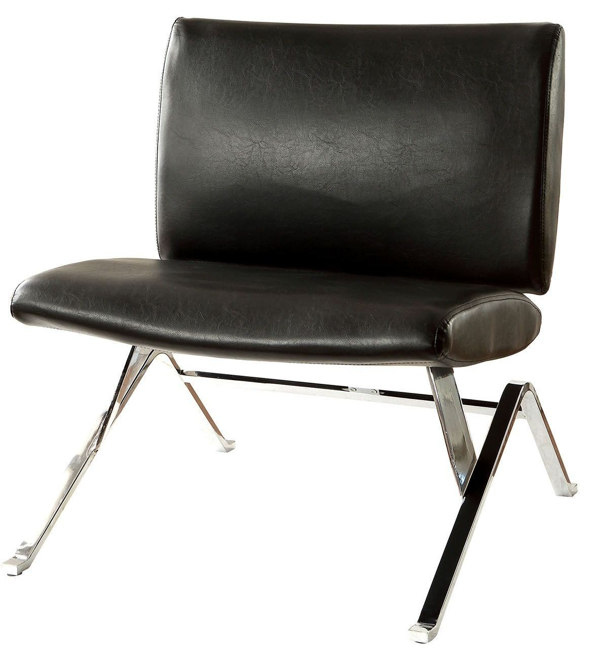 black accent chair massage accessories shana from furniture of america