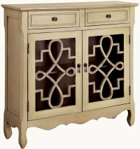 Edna Gray Storage Cabinet from Furniture of America ...