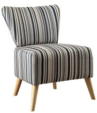 Mildred Stripe Pattern Accent Chair, CM-AC6184, Furniture ...