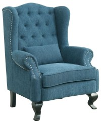 Willow Teal Accent Chair from Furniture of America ...