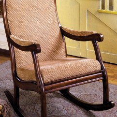 Coleman Rocking Chair Humanscale Smart Liverpool Fabric From Furniture Of America