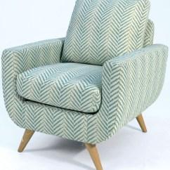 Blue Pattern Accent Chair Perspex Hanging Alondra Cm Ac6821bl Furniture