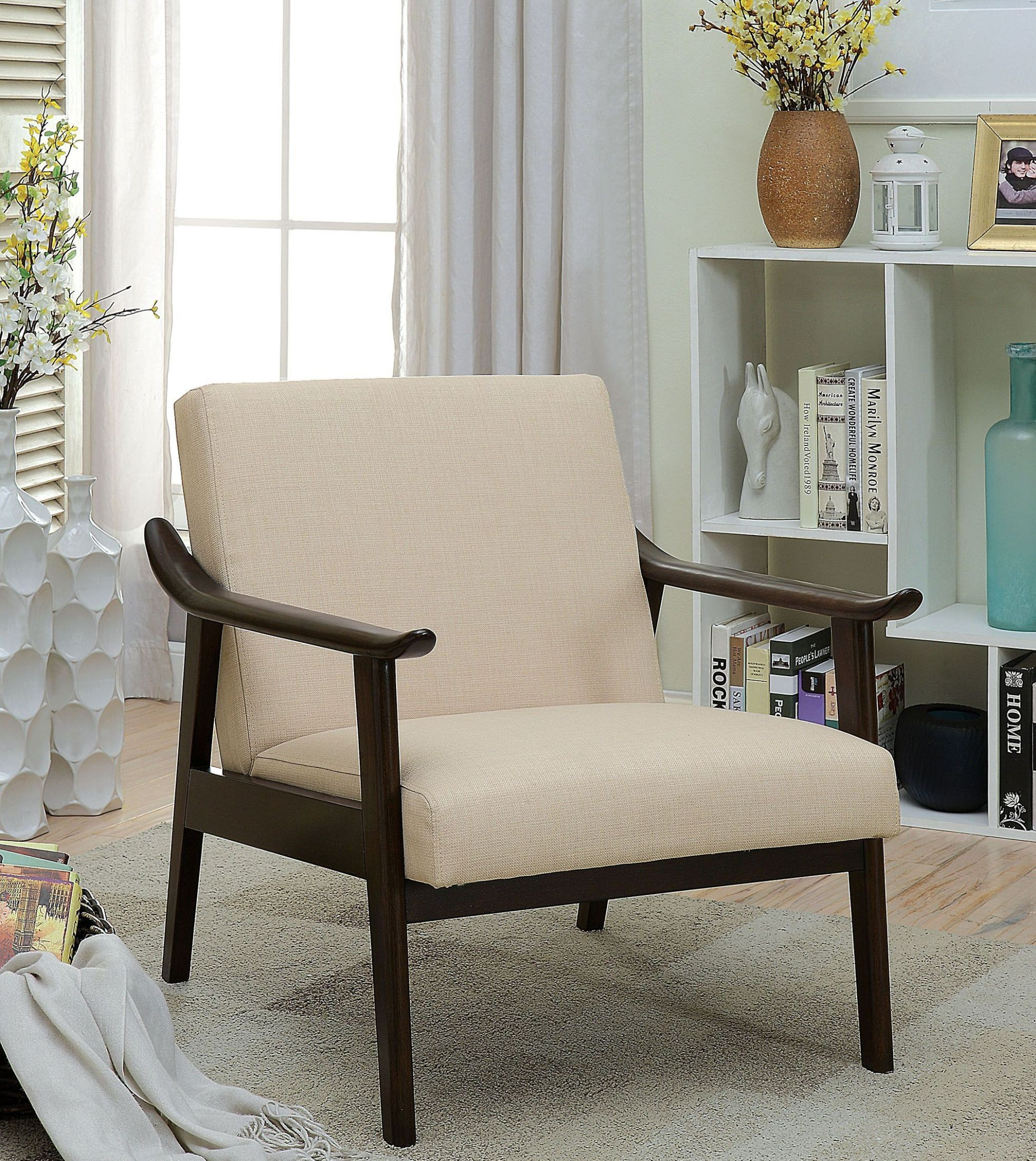 beige accent chairs wheelchair transport services deidre upholstered chair from furniture of
